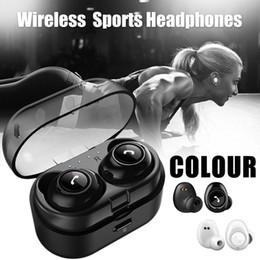 2019 cambiar bluetooth Auriculares inalámbricos Auriculares inalámbricos CP7 TWS Bluetooth5.0 Mini con conmutador de caja de carga entre chino e inglés rebajas cambiar bluetooth