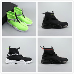 Scarpe casual hip online-2019 New Fashion Designer BY JOHN GEIGER uomo donna Nero bianco Hip top Scarpe casual appartamenti Chaussure Femme Homme