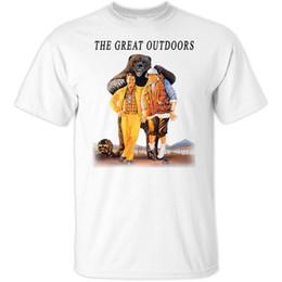 Gran iluminación blanca online-The Great Outdoors v3, Dan Aykroyd camiseta LIGHT todas las tallas S-5XL 1988 para hombre camiseta oscura blanco negro gris rojo pantalones camiseta