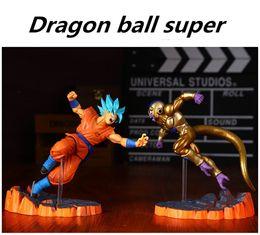 senhor anéis figuras Desconto Anime Dragon Ball Z Goku fighers Super Saiyan príncipe Vegeta Manga Trunks Son Goku Gohan Action Figure Modelo Toy Presente Colecção