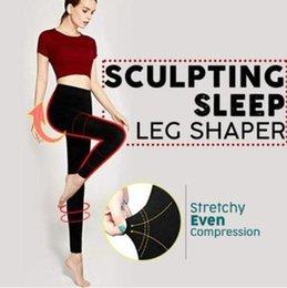 c55fc9f47c Women Women Sleep Leg Shaper Socks Sculpting Sleep Leg Shaper Pants Legging  Socks Body Shapers dropshipping 2019 A3