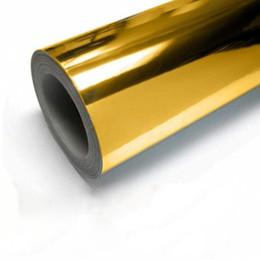 carro enrolar vinil prata Desconto Moda Espelho Vinyl envolver a película de adesivo 30 * 152 centímetros etiqueta do carro bicicleta Motor Corpo Proteger a Folha chapeamento de prata do decalque metálico