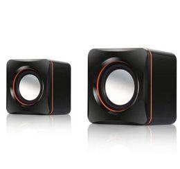100% NUOVI Mini Altoparlanti Audio Altoparlanti Stereo per PC portatili con Tablet Wired Tablet Computer per PC Laptop 3.5MM AUX da cablaggio del telefono domestico fornitori