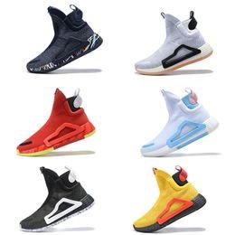 65531b347359 2019 new basketball shoes original n3xt l3v3l Zach LaVine black cloud white  prime knit shoes Donovan Mitchell shoes for men size 40-46