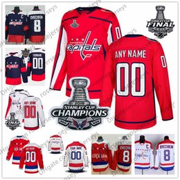 Custom Washington Capitals Red Third Jersey Any Number Name men women youth  kid White Navy Stanley Cup Champions Caps Ovechkin Hagelin Vrana capital  names ... e474b581bfb8