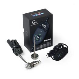 Canada G9 Greenlightvapes Tick Kit Enail Palm-Portable Kit De Dab Dail Avec Réglage Précis De La Température Utilisation Facile Dnail Offre