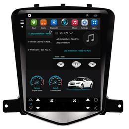 Écran chevrolet cruze en Ligne-HD IPS 9,7 pouces PC de voiture androïde à écran vertical Tesla avec 4G LTE WIFI GPS radio de navigation lecteur multimédia pour Chevrolet CRUZE