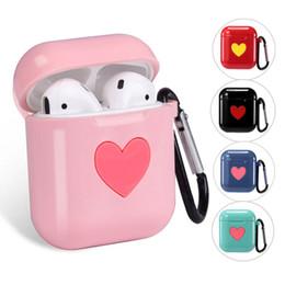 Canada Pour Airpods Accessoires Cosses à air sans fil Bluetooth Étuis à écouteurs mignon Étui en silicone souple pour Apple AirPods Housse de protection cheap earphone cute case Offre