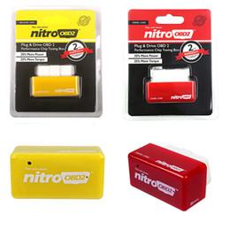 scanner de voiture mahindra Promotion Boîte de réglage de puce de performance NitroOBD2 Plug and Drive pour boîte de réglage de puce NitroOBD2 de voitures diesel
