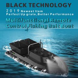 motores de barcos rc Desconto Ferramentas de pesca Inteligente RC Isca Barco Brinquedos Duplo Motor Fish Finder Detector Barco Navio Controle Remoto 500 M Barcos De Pesca Lancha