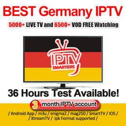 arabic channel iptv box Promo Codes - Germany IPTV Subscription For Android TV BOX 5000 Live Channels VOD Series Arabic France Spain Europe M3U Mag support free test