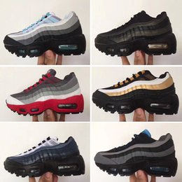 Niños corriendo zapatillas chicas online-Nike air max 95 2019 diseñador Classic 95 zapatos para niños, niños, niñas, deportes, zapatillas deportivas, zapatillas de deporte del niño, zapatillas de deporte de diseño correr
