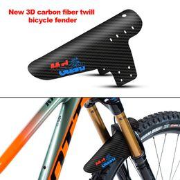 Fibra fender carbono on-line-2019 New Mountain Bike Acessórios Mudguard 3d Fibra De Carbono Sarja de Ciclismo Mtb Fender Guarda Lama Traseira Asas Para Produtos Da Bicicleta Da Estrada