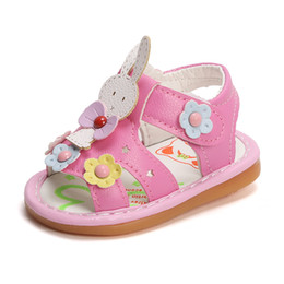 740513784 China 2019 Summer Newborn Baby Girls Sandals Rubber Sole Leather Clogs  Cartoon Called Baby Girls Shoes