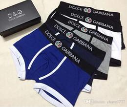 Canada Mode Hommes Sous-vêtements Mémoires Coton 5 Couleur Lettre Respirable Culotte Shorts Conception Cuecas Taille Serrée. GHGHG Offre