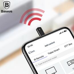 Proiettore universale a distanza online-Telecomando universale a infrarossi per iPhone 7 8 8P X IR Telecomando wireless intelligente per TV Proiettore di aria condizionata