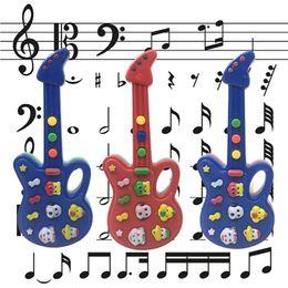 Simulation Guita Modell Music Maker Spielzeug Kinder Musikinstrument Baby Spielen Spiel Requisiten Kinder Bildung Spielzeug Party Geschenk Großhandel von Fabrikanten