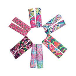 Argentina Neopreno Popsicle Holder LILY Floral Pop Ice Sleeve Freezer Pop Freeers 4 * 15.5 cm Cubierta de borde para niños Playa de verano Herramientas de cocina A6301 Suministro
