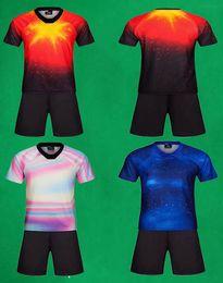 Pantalones de fútbol personalizados para adultos Pantalones Diy Número de nombre del logotipo 2019 2020 Juegos de entrenamiento de fútbol para hombre Deportes al aire libre Uiforms Sportwear desde fabricantes