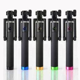 Canada Portable Monopod Extensible Self-Pole Handheld Selfie Stick filaire pour iPhone facile à transporter Alliage d'aluminium portatif léger Offre