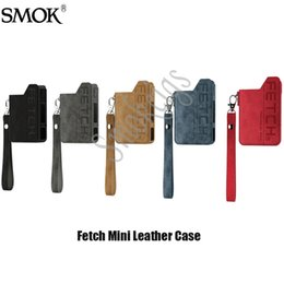 Smok Mini Pod Seti 5 Renk Üst Kalite% 100 Orjinal Fetch Mini Kılıf Getirme nereden x9 batarya modu tedarikçiler