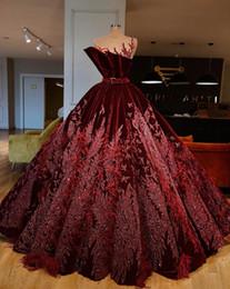 Lüks Bordo Balo Dantel Aplike Gelinlik Modelleri Vitage Payetli Straplez Akşam elbise Uzun Örgün Parti Pageant elbise nereden