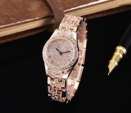 relojes de damas hermosas Rebajas Dama de la moda Vestido de diamantes Vestido de cuarzo maestro Fiesta de las mujeres Relojes coloridos Reloj hermoso Orologio
