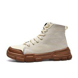2019 botas de invierno para hombres 2018 invierno estilo caliente retro Martin botas hombres zapatos venta al por mayor calientes botas al aire libre para hombres 40-44 botas de invierno para hombres baratos