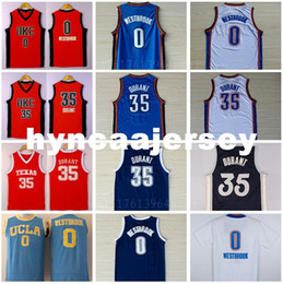 fce61060a Kevin KD 35 Basketball Jerseys College Retro Christmas 0 RW Jersey Men's  Fashion Navy Blue Orange White Ncaa. Supplier: hyncaajersey