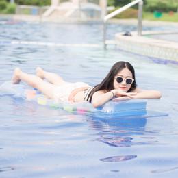 Аква маты онлайн-Aqua Inflatable Water Lounge 171x64см Водяной надувной матрас для взрослых Летний бассейн Игрушка 4 Цветная Подушка Lounge Bed B39008