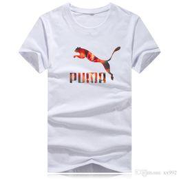 2019 t-shirt de pp T-shirt à manches courtes 100% coton pour hommes en coton PP hiver hommes neufs promotion t-shirt de pp