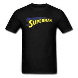 benutzerdefinierte online-druck Rabatt Superman Schwarz T-shirt Männer Kurzarm Sommer T-shirt 2018 Benutzerdefinierte Online Shop 3D Brief Drucken Mode Top