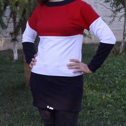 Argentina dobladillo con cordón rojo del vestido de niña de 6 años de edad Toontoy - 116 cm HB-004029695 Suministro