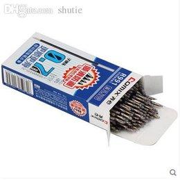 Wholesale-100pcs / lot 0,7 мм шариковая ручка пополнения подходит для выдвижной ручки высокого качества отличное письмо Comix R991 от Поставщики бритвенные наборы