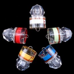 großhandel stahlfallen Rabatt 10 STÜCKE 19g LED fischfalle lampe attraktion vollverschluss 5 farbe muster 1000 mt tiefwasser letzten 200 stunden sammeln fischbestände Hohe qualität!