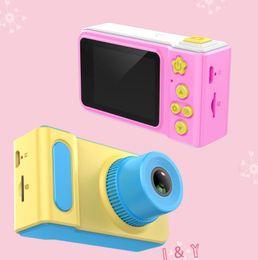 mini-digitalkamera für kinder Rabatt Mini Digitalkamera Niedlichen Cartoon Cam 1080 P Kinder Kleinkind Spielzeug Kinder Geburtstagsgeschenk 2 Zoll Bildschirm dropshipping