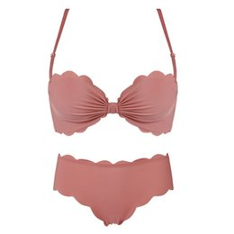 c0c519b0c 1 2 cup fall and winter new small thick cup young ladies dress underwear  seamless women sexy push up bra set floral lingerie