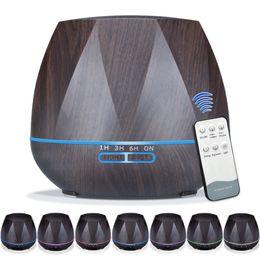 2019 macchina remota Diffusore di Olio Essenziale per Umidificatore a Controllo remoto Diffusore di Umidificatore per Umidificatori LED Aroma Diffusore Aromaterapia Diffuserlove RRA736 macchina remota economici