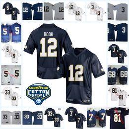 Camiseta de fútbol joe montana online-Camiseta de fútbol NCAA para hombre Joe Montana Notre Dame Mike McGlinchey Josh Adams Manti Te'o Ian Libro Stephon Tuitt Tim Brown Notre Dame Jersey