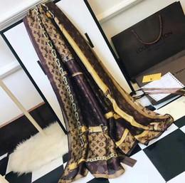 Argentina Bufanda de seda con diseño clásico en jacquard para mujer con pañuelo de diseño jacquard clásico 190x80Cm bufanda del mantón Suministro