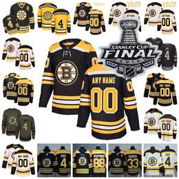 2019 Stanley Cup Boston Bruins Brad Marchand Patrice Bergeron Brad Marchand Zdeno Chara David Pastrnak Coyle Magliette da hockey Uomo Donna Gioventù da