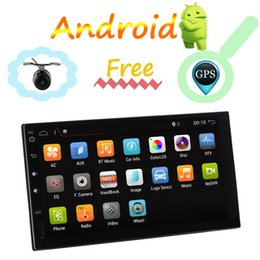 Argentina 2 Din 7 '' quad core Universal Android 8.1 Radio Estéreo Navegación GPS WiFi 1024 * 600 Pantalla Táctil 2din PC RDS USB VIDEO Suministro