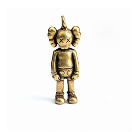 Tide Brand Doll Llavero de regalo lindo llavero de coche para las mujeres Delicate Copper Key Ring for Men desde fabricantes