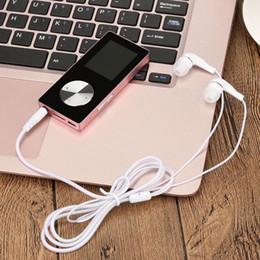 base maestra Rebajas moda 1.8 '' TFT negro 4G MP3 HiFi Sin pérdida de sonido Reproductor de música Grabadora de FM Soporte para tarjeta TF 64 GB Tarjeta Micro SD