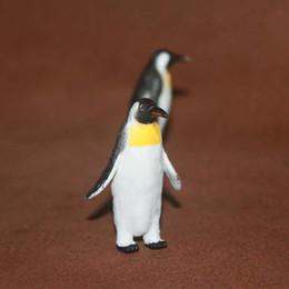 Freies Verschiffen aufgeschütteten Simulation Tiermodell Plastikspielzeuge Ozean Scenes Dekoration Kaiserpinguin von Fabrikanten