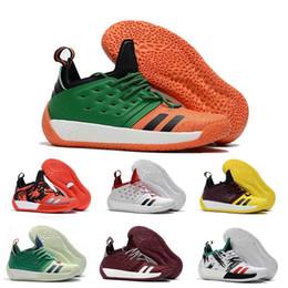 Haute Qualité James Harden Vol.2 Chaussures De Basket-ball Pour Hommes De La Mode Noir Blanc Rouge Vert Orange Bleu Gris Brun Vin Sports Sneakers ? partir de fabricateur