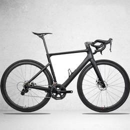 Cuadro de bicicleta de carretera pintura online-2019 Disc Aero Road Frame Road Bike para 700 * 32C Pintura personalizada Productos OEM Road Carbon Frame TT-X16full, TanTan Venta de fábrica