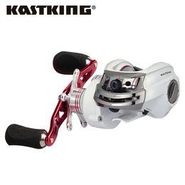 2019 литейное оборудование KastKing Whitemax низкопрофильный 5.3:1 передаточное отношение Baitcasting катушки 8 кг перетащить приманки литья рыболовная катушка для озера реки Рыбалка дешево литейное оборудование