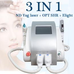 Máquina de belleza multifunción online-nd yag laser beauty máquina de belleza multifunción shr e-light depilación nd yag laser machine depilación