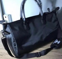 bagagli di viaggio pieghevoli Sconti Borsa sportiva di tela di marca / borsa da viaggio / borsa sportiva all'aperto / borse da viaggio borsa a mano pieghevole borsa da viaggio